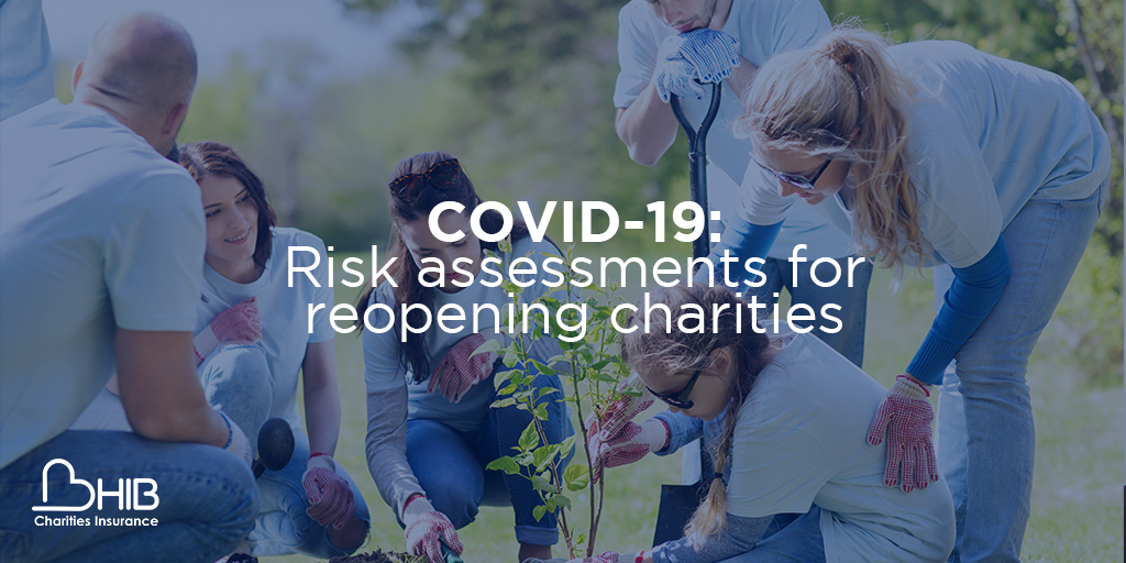 Covid 19 risk assessments for charities
