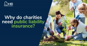 Why do charities need public liability insurance