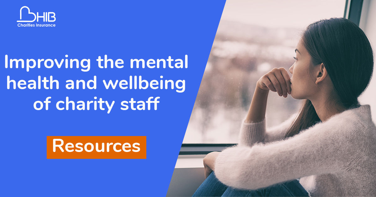 Charity worker mental health and wellbeing