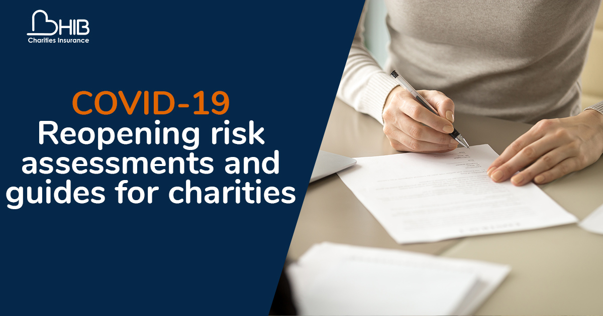 COVID-19 risk assessments guides for charities