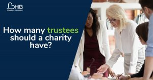How many trustees should a charity have