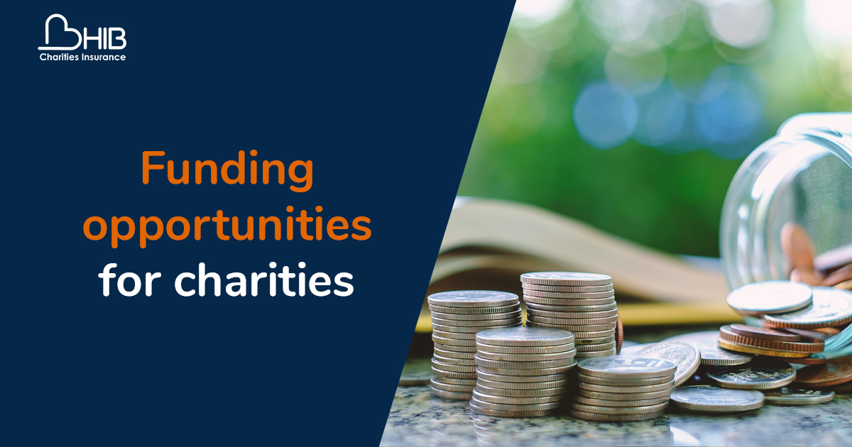 Funding opportunities for charities