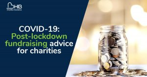 Fundraising advice after covid lockdown